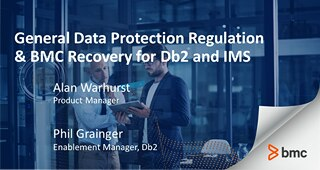 GDPR and BMC Recovery for Db2 and IMS