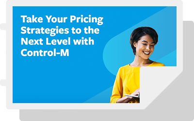 Take Your Pricing Strategies to the Next Level with Control-M