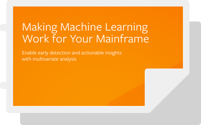Making Machine Learning Work for Your Mainframe